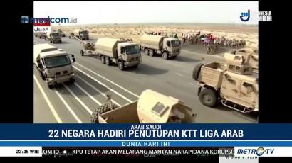 Parade Militer Tutup KTT Liga Arab