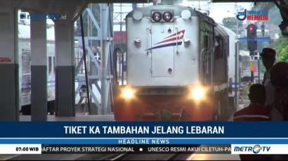 PT KAI Daop Bandung Siapkan Tiket Kereta Tambahan Mudik Lebaran