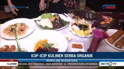 Icip-icip Kuliner Serba Organik
