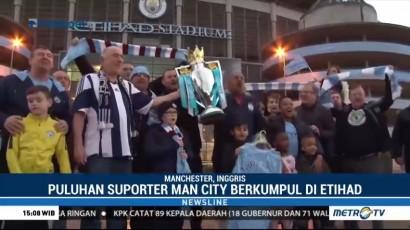 Perayaan Juara Manchester City