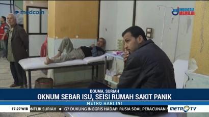 Sekelompok Orang Sebarkan Isu Serangan Kimia di Suriah