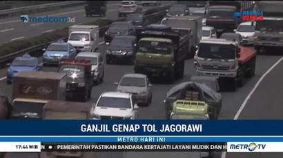 Hari Kedua Ganjil Genap Tol Jagorawi, Volume Kendaraan ke Jakarta Menurun
