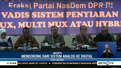 Fraksi NasDem Gelar FGD Bahas UU Penyiaran
