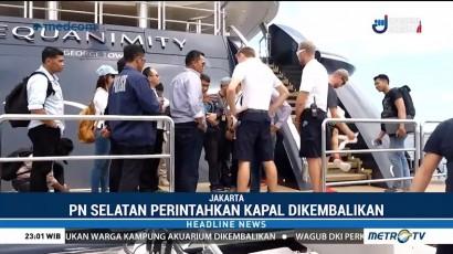 PN Jakarta Selatan Menilai Penyitaan Kapal Equanimity Tidak Sah