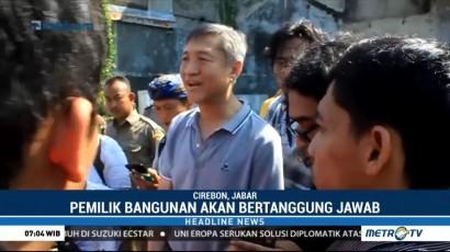 Pemilik Sarang Walet yang Roboh di Cirebon Siap Tanggung Jawab