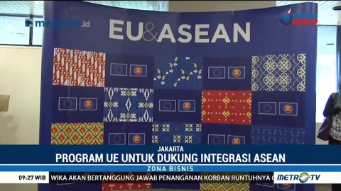 Uni Eropa Kucurkan Dana 61 Juta Euro untuk ASEAN