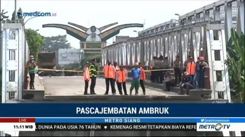 Jembatan Widang Ambruk, Bagaimana Nasib Arus Mudik Lebaran?