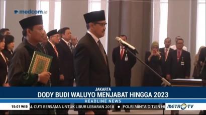 MA Lantik Dody Budi Waluyo Sebagai Deputi Gubernur BI