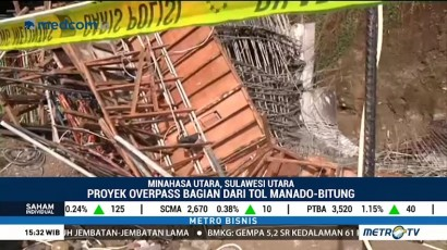 PT Wika Serahkan Penyelidikan Runtuhnya Tol Manado-Bitung ke Polisi