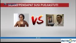 Menteri Susi vs Menko Luhut & Wapres JK Soal Penenggelaman Kapal
