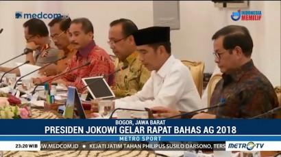 Jokowi Ingin Promosi Asian Games 2018 Lebih Intensif