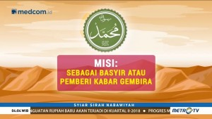 Syiar Sirah Nabawiyah: Misi Nabi Muhammad SAW sebagai Basyir (1)