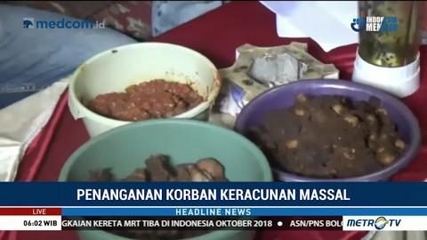 Polisi Periksa Sampel Makanan Diduga Penyebab Keracunan Massal di Bengkulu
