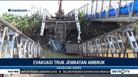 Satu Truk Korban Ambruknya Jembatan Widang Berhasil Dievakuasi
