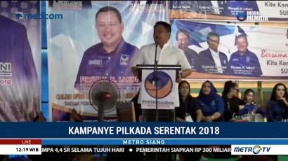Herman Deru Hadiri Pelantikan Pengurus DPD Partai NasDem Kabupaten Muratara