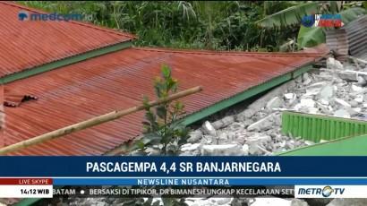 2.104 Jiwa Mengungsi Akibat Gempa Banjarnegara