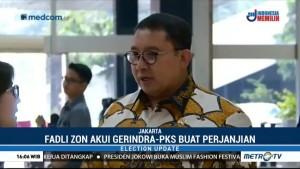 Fadli Zon Akui PKS-Gerindra Buat Perjanjian Politik