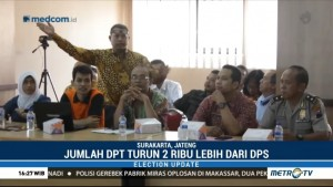 KPUD Surakarta Tetapkan Jumlah DPT Pilgub Jateng