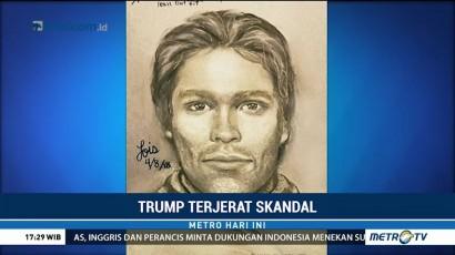 Trump Sebut Sketsa yang Dirilis Daniels Hanya Sosok Khayalan
