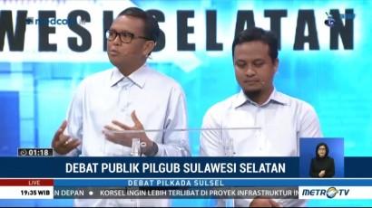 Debat Publik Kedua Pilgub Sulawesi Selatan 2018 (3)