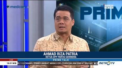 Riza Patria Tegaskan Gerindra Bukan Sedang Cari Jabatan