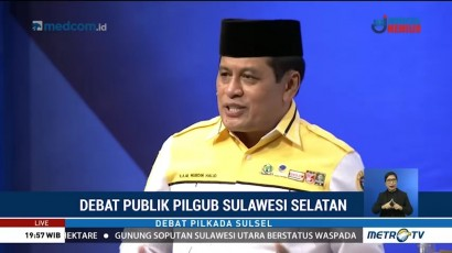 Debat Publik Kedua Pilgub Sulawesi Selatan 2018 (4)