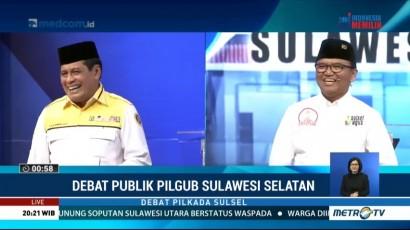 Debat Publik Kedua Pilgub Sulawesi Selatan 2018 (5)