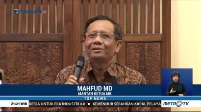 Kata Mahfud MD Soal Tawaran Jadi Cawapres