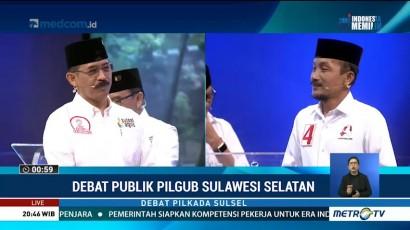 Debat Publik Kedua Pilgub Sulawesi Selatan 2018 (6)