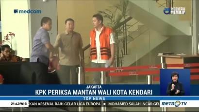 KPK Periksa Dua Tersangka Kasus Suap Wali Kota Kendari