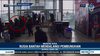 Bantah Racuni Sergei Skripal, Rusia Rilis Rekaman CCTV