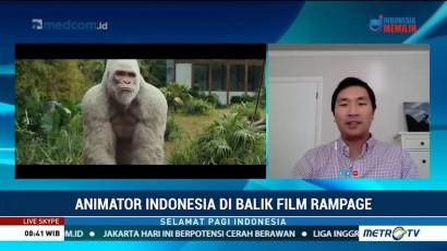Sosok Animator Indonesia di Balik Film Rampage
