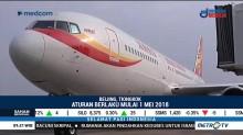 Tiongkok akan Larang Penumpang Berperilaku Buruk Naik Pesawat