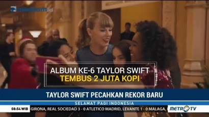 Taylor Swift Tembus Penjualan 2 Juta Kopi Album