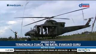 Evakuasi Tiga Guru Korban Penyanderaan di Papua Terkendala Cuaca