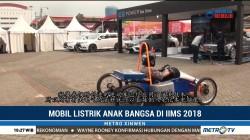 Mobil Listrik Anak Bangsa Hadir di IIMS 2018