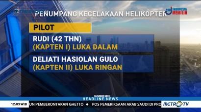 Daftar Nama Korban Helikopter Jatuh di Morowali