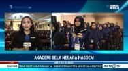 Ratusan Pelajar SMA Belajar di ABN NasDem