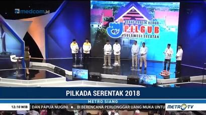 Empat Kandidat Pilgub Sulsel 2018 Bahas Pelayanan Publik
