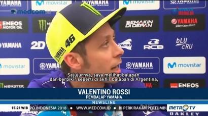 Rossi Lupakan Insiden Argentina