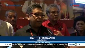 PDIP Kantongi Sejumlah Nama untuk Dampingi Jokowi di Pilpres 2019