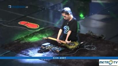 Aksi Gitaris Difabel Mainkan Musik Yngwie Malmsteen