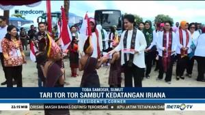 Iriana Kunjungan Kerja ke Sumut, Jokowi ke Jabar