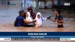 Jalan Penghubung Kabupaten Menuju Kota Bandung Terendam
