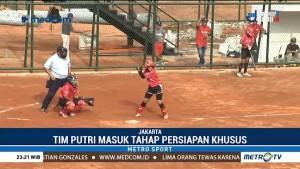 Persiapan Atlet Softball Jelang Asian Games 2018