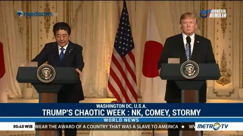 Trump's Chaotic Week: North Korea, Comey and Stormy