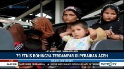 79 Imigran Rohingya Terdampar di Perairan Aceh