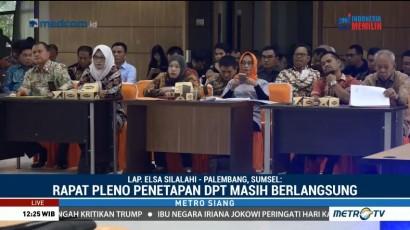 KPU Sulsel Gelar Rapat Pleno Penetapan DPT