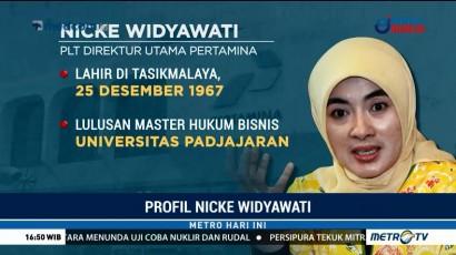Profil Plt Dirut Pertamina Nicke Widyawati