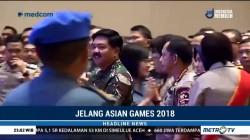 TNI-Polri Bersinergi Amankan Asian Games 2018